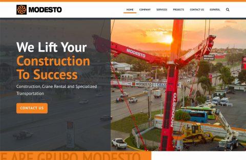 Grupo Modesto - Sitio Web