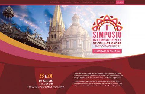 Solcema - Simposio - Sitio Web